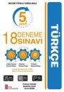 5. Sınıf Türkçe 18 Deneme Sınavı Ata Yayıncılık