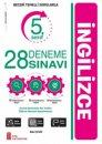 5. Sınıf İngilizce 28 Deneme Sınavı Ata Yayıncılık