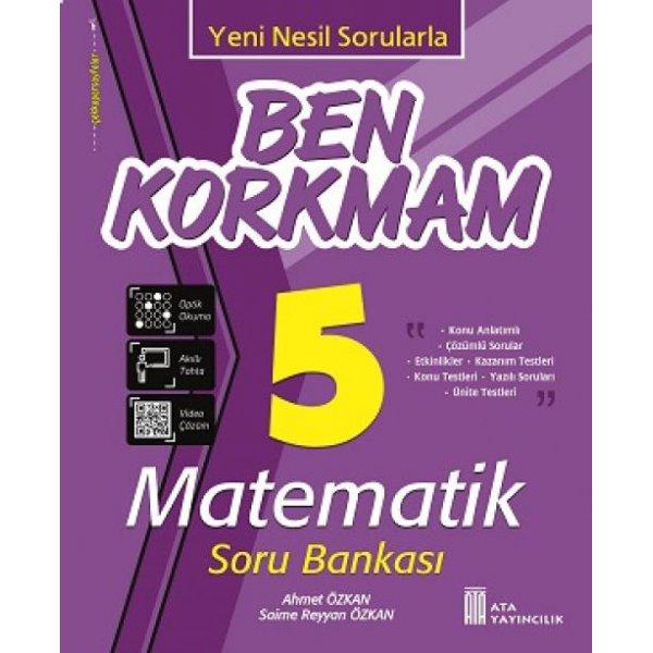 5. Sınıf Ben Korkmam Matematik Soru Bankası Ata Yayıncılık