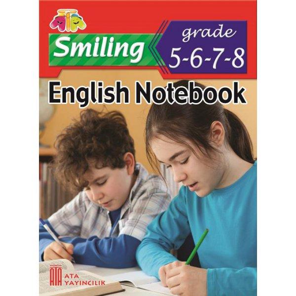5-6-7-8. Sınıf İngilizce Notebook Ata Yayıncılık