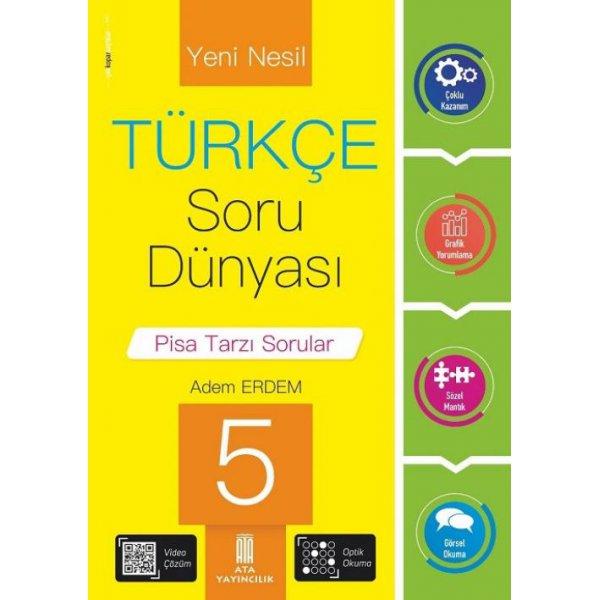 5. Sınıf Yeni Nesil Türkçe Soru Dünyası Ata Yayıncılık