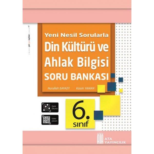 6. Sınıf Din Kültürü ve Ahlak Bilgisi Soru Bankası Ata Yayıncılık