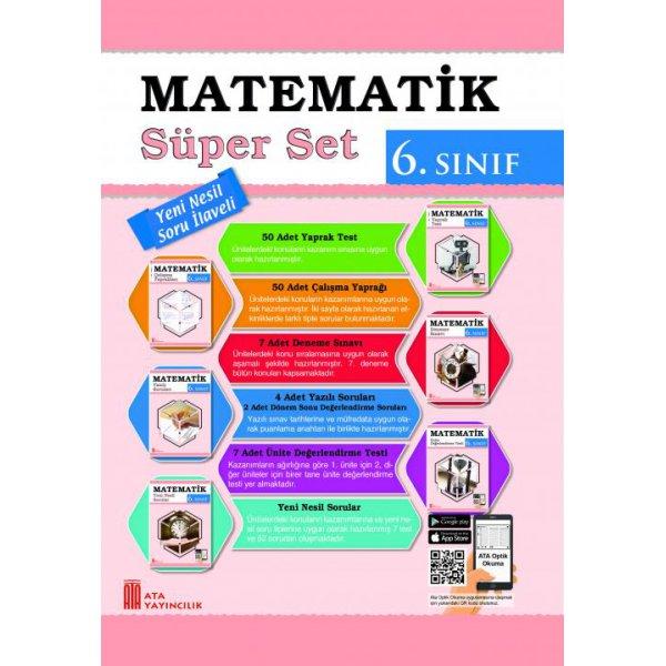 6. Sınıf Matematik Süper Set Ata Yayıncılık