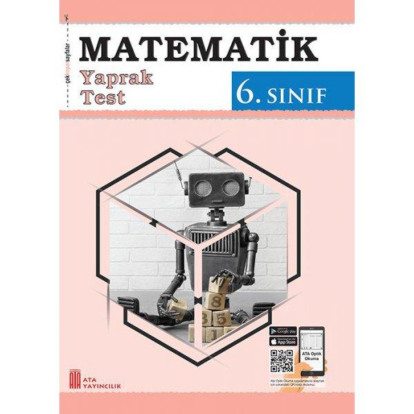 6. Sınıf Matematik Yaprak Test Ata Yayıncılık