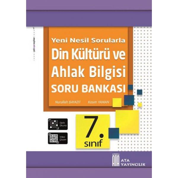 7. Sınıf Din Kültürü ve Ahlak Bilgisi Soru Bankası Ata Yayıncılık
