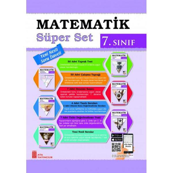 7. Sınıf Matematik Süper Set Ata Yayıncılık