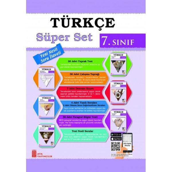 7. Sınıf Türkçe Süper Set Ata Yayıncılık