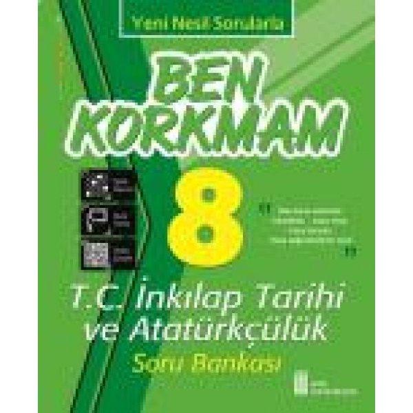 8. Sınıf Ben Korkmam T.C. İnkılap Tarihi ve Atatürkçülük Soru Bankası Ata Yayıncılık