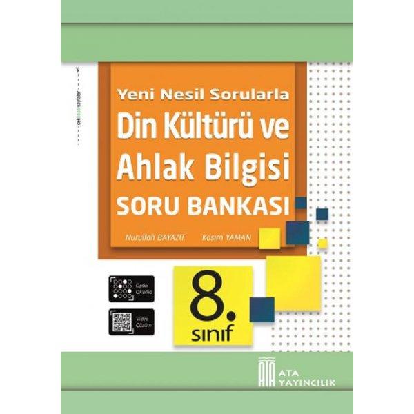 8. Sınıf Din Kültürü ve Ahlak Bilgisi Soru Bankası Ata Yayıncılık
