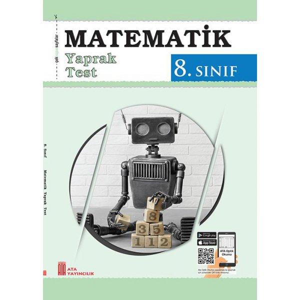 8.Sınıf Matematik Yaprak Test Ata Yayıncılık