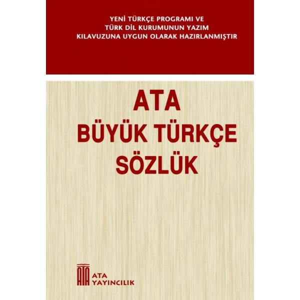 Büyük Türkçe Sözlük (Sert Kapak) Ata Yayıncılık