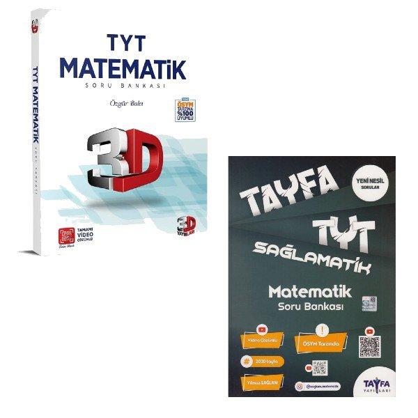 TYT Matematik Kazandıran Soru Bankaları Seti 3D ve Tayfa Matematik