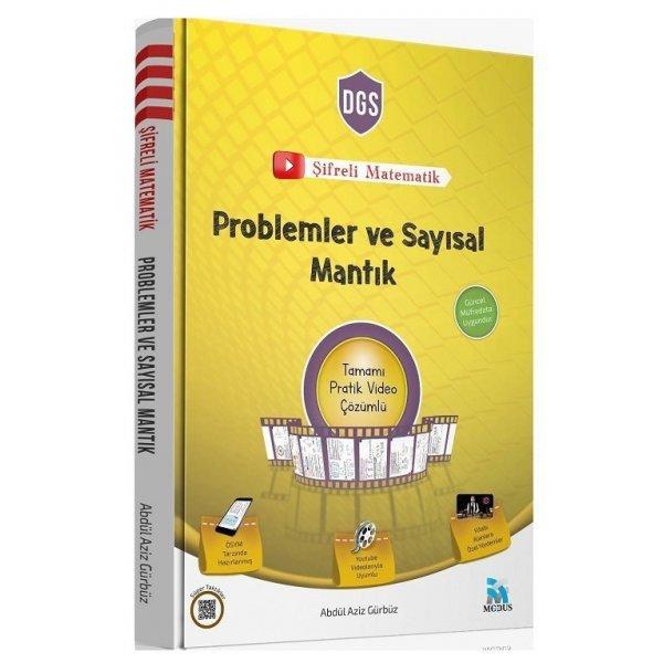 2020 DGS Şifreli Matematik Problemler ve Sayısal Mantık Video Çözümlü Abdül Aziz Gürbüz Modus Yayınları