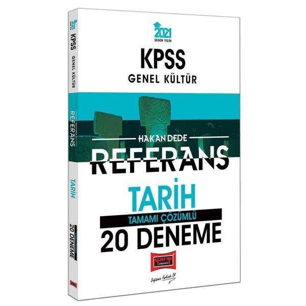 2021 Tarih Referans Tamamı Çözümlü 20 Deneme Yargı Yayınları