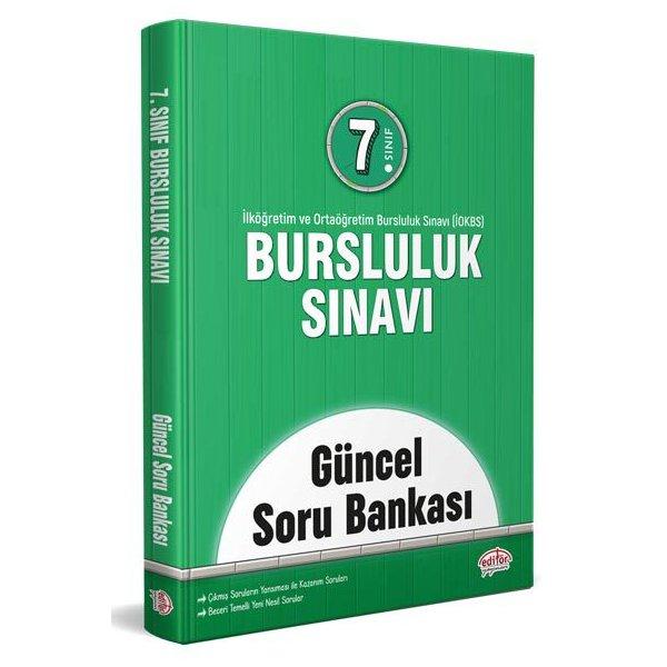 7. Sınıf İOKBS Bursluluk Sınavı Güncel Soru Bankası Editör Yayınları