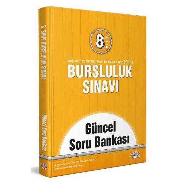 8. Sınıf İOKBS Bursluluk Sınavı Güncel Soru Bankası Editör Yayınları