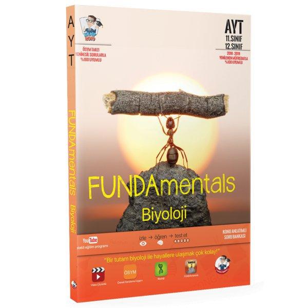 Tonguç Fundamental AYT Biyoloji Konu Anlatımlı Soru Bankası Tonguç Akademi