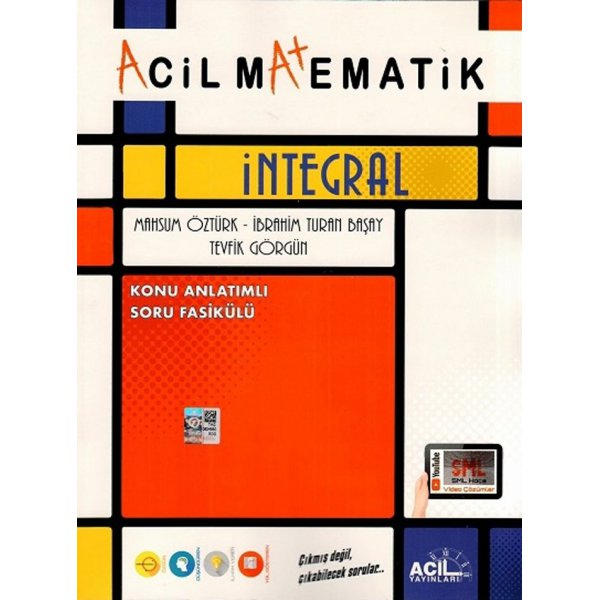 Acil Matematik İntegral Konu Anlatımlı Soru Fasikülü Acil Yayınları