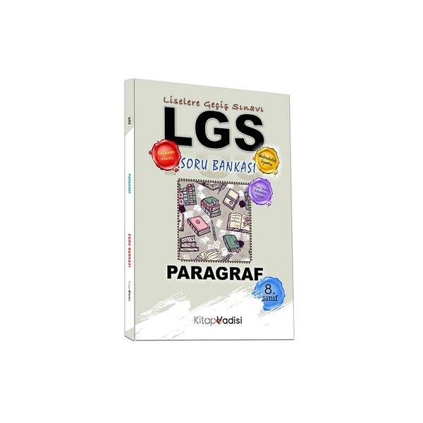 Kitap Vadisi Yayınları 8. Sınıf LGS Paragraf Soru Bankası