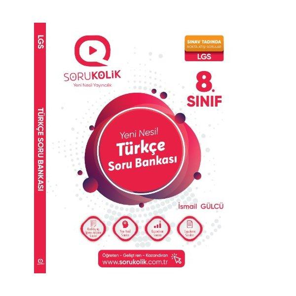Sorukolik Yayınları 8. Sınıf LGS Türkçe Soru Bankası