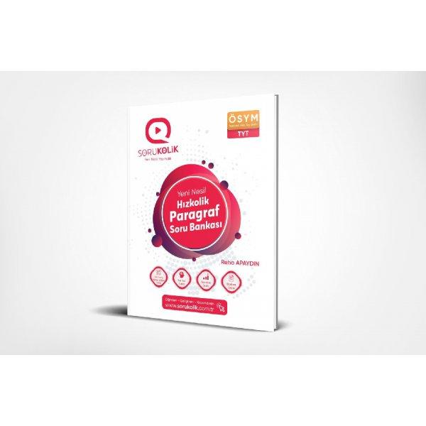 Sorukolik Yayınları TYT Hızlıkolik Paragraf Soru Bankası