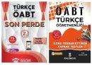 2021 ÖABT Türkçe Öğretmenliği Yaprak Test + Son Perde 7 Deneme 2 li Set - Enes Kaan Şahin Türkçe ÖABTDEYİZ