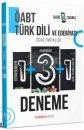 2021 ÖABT Türk Dili ve Edebiyatı 5 Deneme Dijital Çözümlü İndeks Kitap