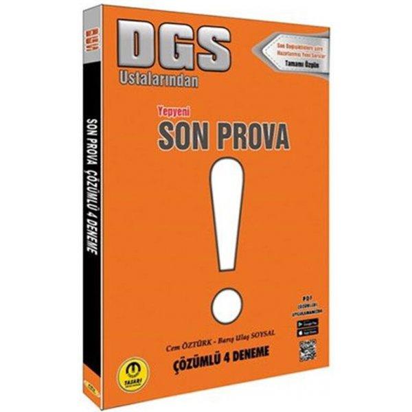2021 DGS Son Prova 4 Deneme Tamamı Video Çözümlü Tasarı Yayınları