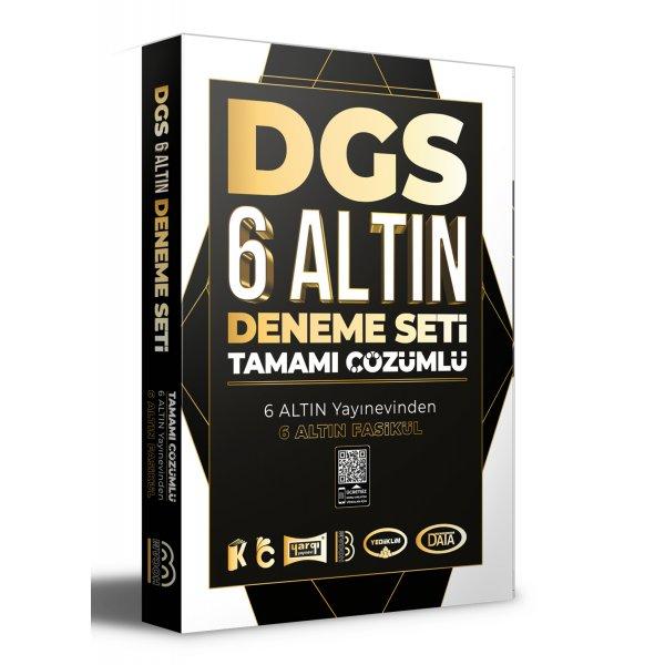 2021 DGS Tamamı Çözümlü 6 Altın Deneme Benim Hocam Yayınları