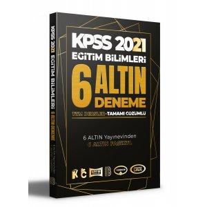 2021 KPSS Eğitim Bilimleri Tamamı Çözümlü 6 Altın Deneme Benim Hocam Yayınları