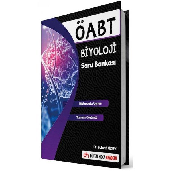 2021 ÖABT Biyoloji Öğretmenliği Soru Bankası Çözümlü - Bülent Özbek Dijital Hoca Akademi