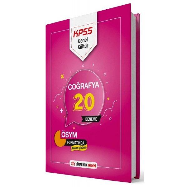 2021 KPSS Coğrafya 20 Deneme Çözümlü Dijital Hoca Akademi