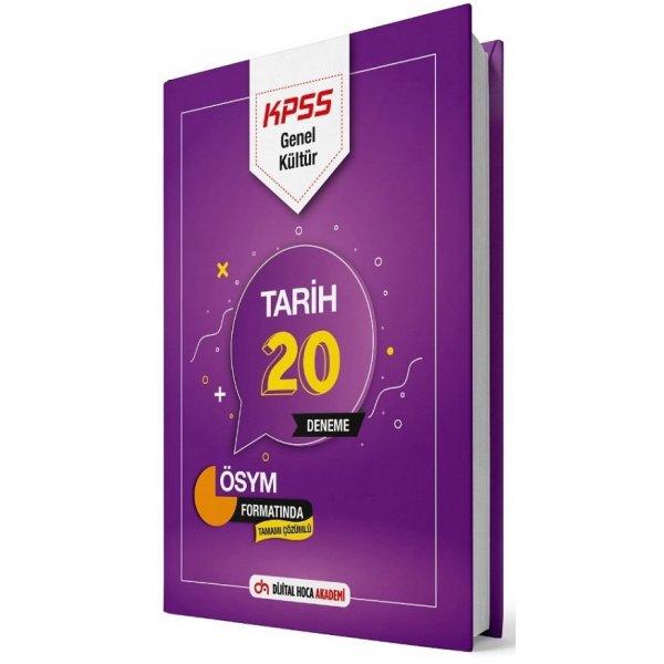 2021 KPSS Tarih 20 Deneme Çözümlü Dijital Hoca Akademi