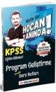 2021 KPSS Eğitim Bilimleri Program Geliştirme Hoca Yanında Pratik Ders Notları - Metin Şar Dijital Hoca Akademi