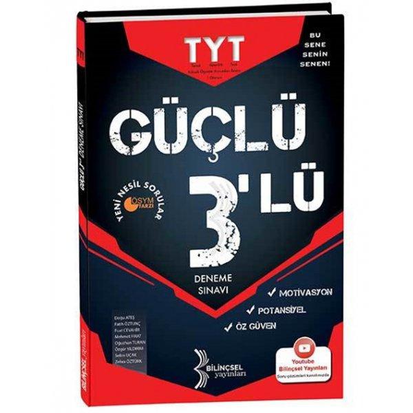 TYT Güçlü 3lü Deneme Sınavı Bilinçsel  Yayınları