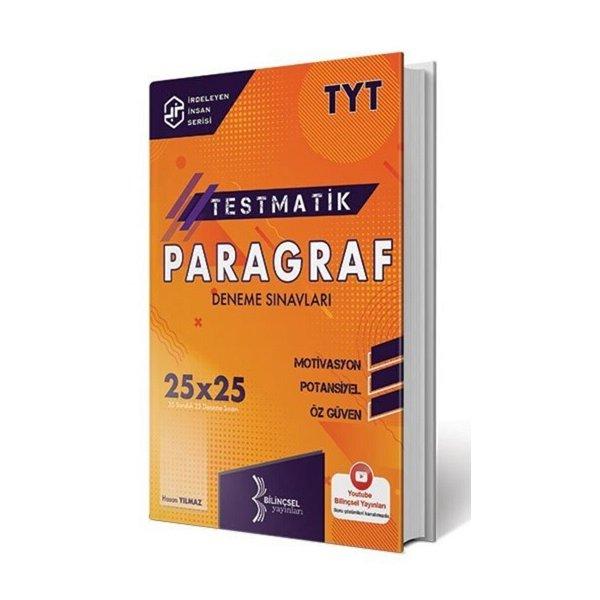 TYT Testmatik Paragraf Deneme Sınavları 25x25 Bilinçsel Yayınları