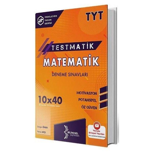 TYT Matematik Testmatik 10x40 Deneme Sınavları Bilinçsel Yayınları