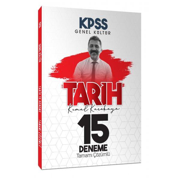2021 KPSS Tarih Tamamı Çözümlü 15 Deneme Sınavı Kemal Karakaya