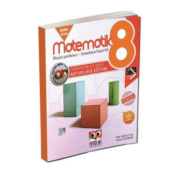 8. Sınıf LGS Matematik Artırılmış Konu Kitabı Nitelik Yayınları