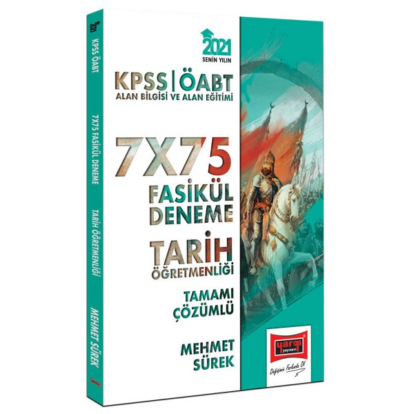 2021 ÖABT Tarih Öğretmenliği Tamamı Çözümlü 7x75 Fasikül Deneme Yargı Yayınları