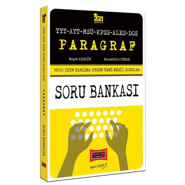 2021 TYT AYT MSÜ KPSS ALES DGS Paragraf Yeni Nesil Soru Bankası Yargı Yayınları