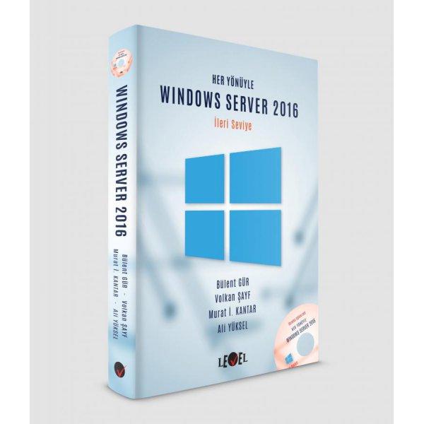 Her Yönüyle Windows Server 2016 Level Kitap