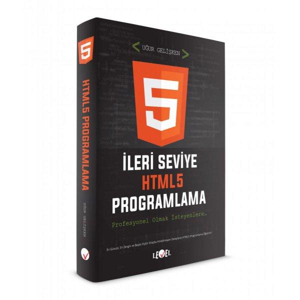 İleri Seviye HTML5 Proglamlama(DVD Hediyeli) Level Kitap
