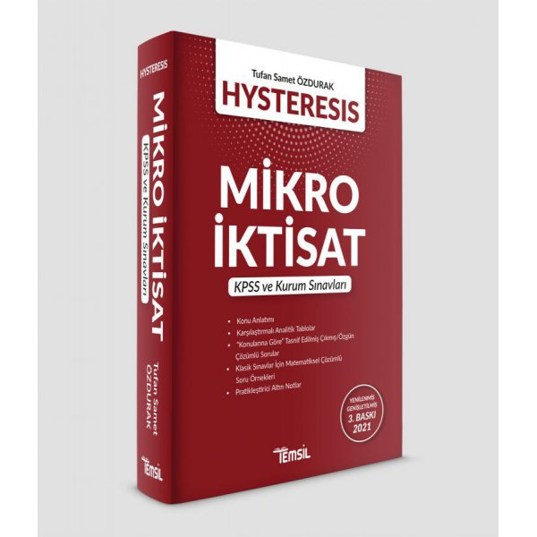 Hysteresis Mikro İktisat Temsil Kitap