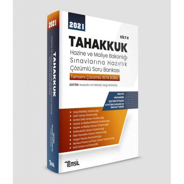 Tahakkuk Hazine ve Maliye Bakanlığı Sınavlarına Hazırlık CİLT II Temsil Kitap