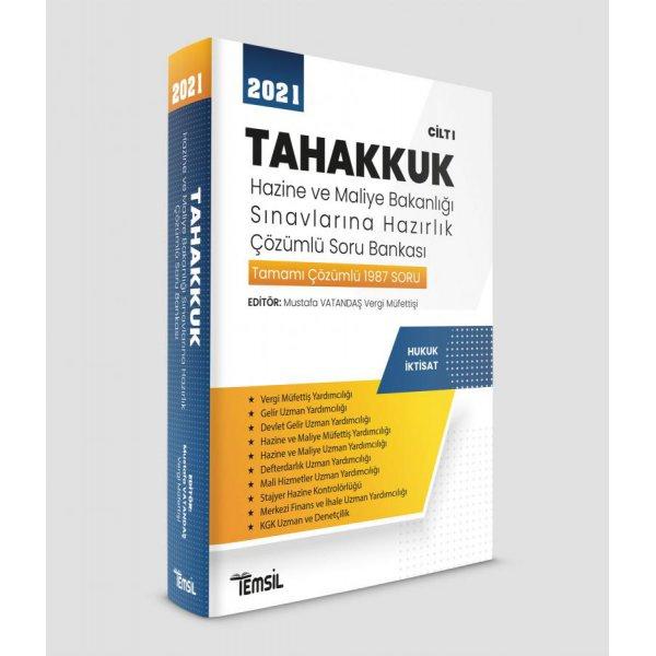 Tahakkuk Hazine ve Maliye Bakanlığı Sınavlarına Hazırlık CİLT I Temsil Kitap