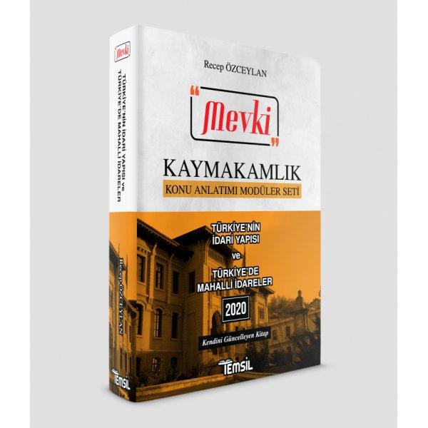 Mevki Türkiye'nin İdari Yapısı ve Türkiye'de Mahalli İdareler Temsil Kitap