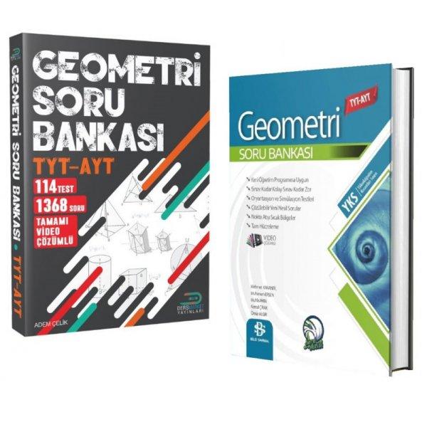 TYT AYT Geometri Çözdüren Soru Bankası İkili Bilgi Sarmal Ders Market