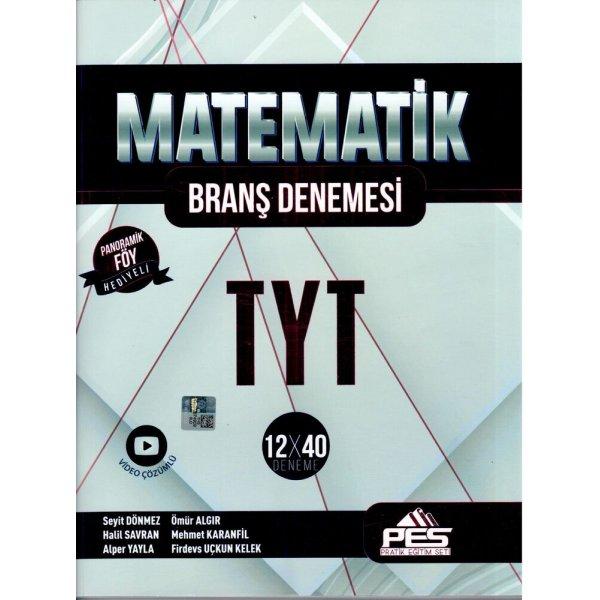PES Yayınları TYT Matematik 12 x 40 Branş Denemesi