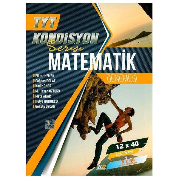 Hız ve Renk Yayınları TYT Matematik Kondisyon Serisi 12 x 40 Denemesi